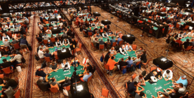 WSOP Main Event Saal 2019