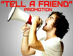 tell a friend promotion yourpokerdream777