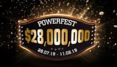 The next powerfest with 28 millions guaranteed