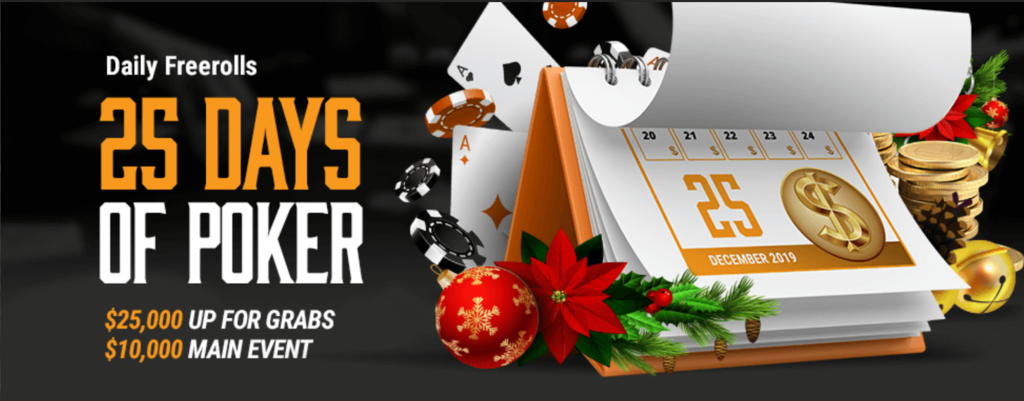 Christmas Poker Promotions: 25 Days Of Poker At TigerGaming