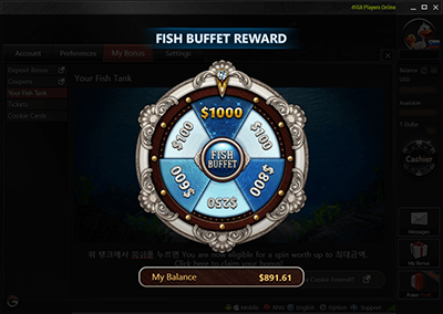The GG Poker Network (GG) is changing the Fish Buffet Rakeback Program