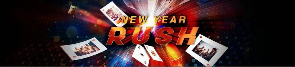 Ney Year Rush at PartyPoker