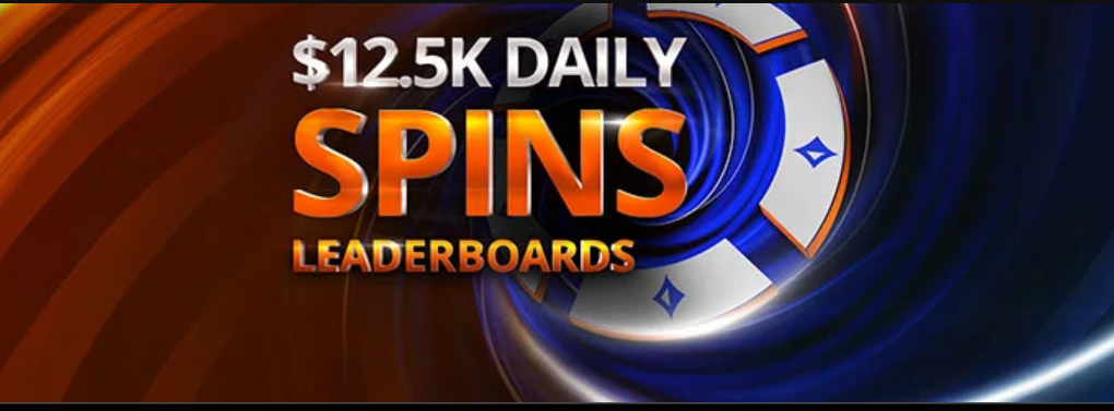 12,k Daily Spins Leaderboard at PartyPoker and Bwin