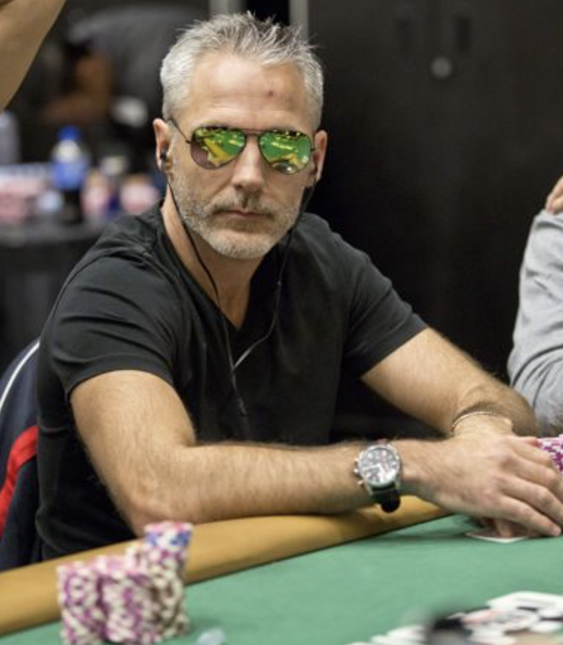 Damian Salas leads the final table of the WPTWOC Main Event at partypoker