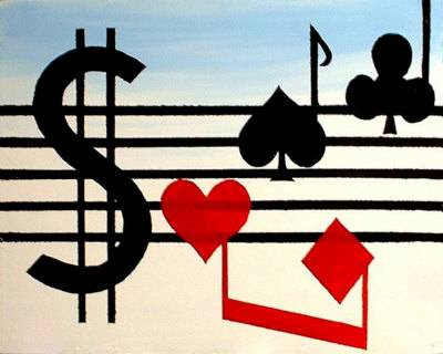The influence of music while playing poker