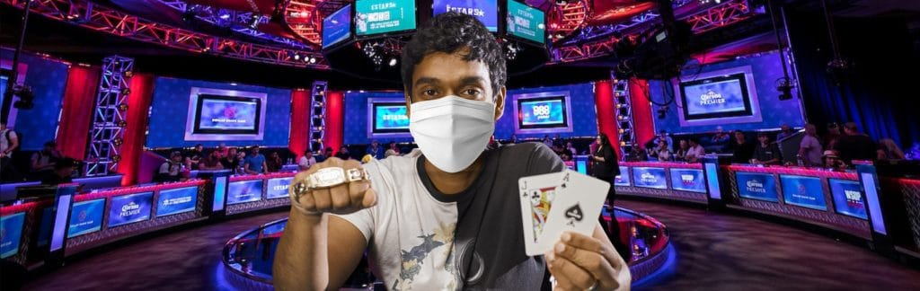 Upeshka De Sliva Poker player