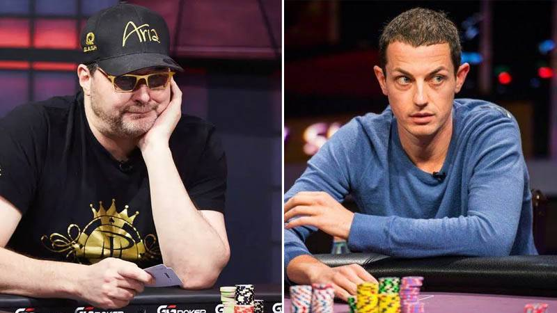 Tom Dwan and Phil Hellmuth heads up
